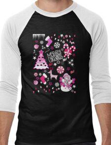 christmas Men's Baseball ¾ T-Shirt