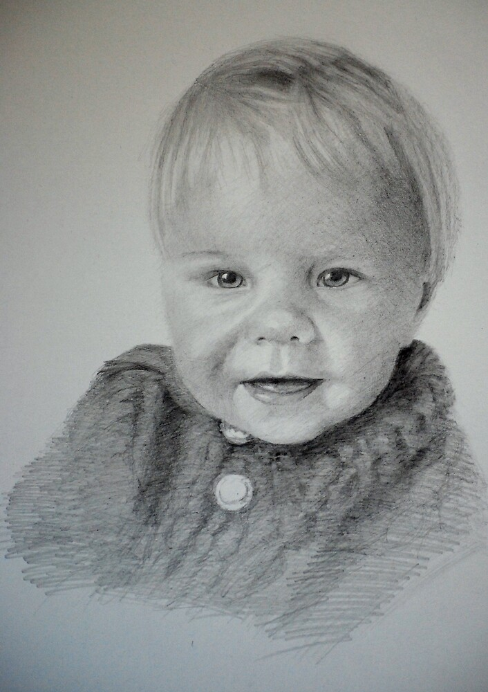 Child Portrait by Lynn Hughes