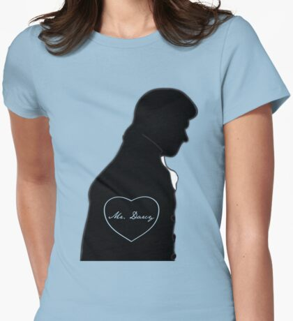 Mr. Darcy Womens Fitted T-Shirt