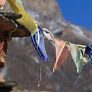 Prayer flags.... by Steen Nielsen