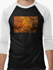 Backlit Branch II Men's Baseball ¾ T-Shirt