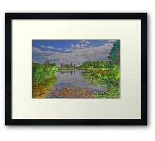 Castle Westhoeve with Park in Domburg, Holland Framed Print