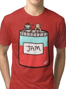 Sherlock, John, and Jam Tri-blend T-Shirt