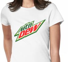 Mountain Dew  Womens Fitted T-Shirt
