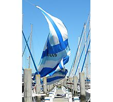 Sail caught by the wind Photographic Print