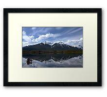 Sundance Range Framed Print