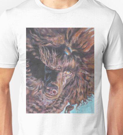 Poodle Fine Art Painting Unisex T-Shirt