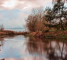 The River Stour, Fordwich by Dave Godden