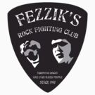 Fezzik's Rock Fighting Club Sticker by AndreeDesign