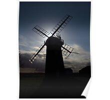 Horsey Windmill, Norfolk (2) Poster