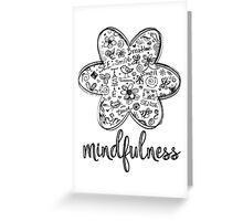 Mindfulness Greeting Card
