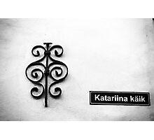Tallinn BW. Photographic Print