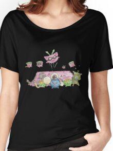 Jumpluff's Mass Attack! Women's Relaxed Fit T-Shirt