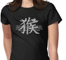 Year of The Monkey 1956 Chinese New Year 1956 Womens Fitted T-Shirt