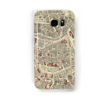 Vintage Map of Vienna Austria (1883) Samsung Galaxy Case/Skin