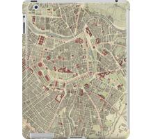 Vintage Map of Vienna Austria (1883) iPad Case/Skin