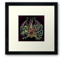 Guardian Forces Framed Print