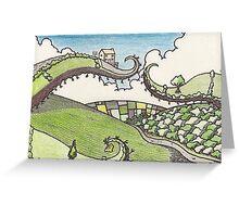 irish landscape Greeting Card
