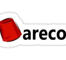 Hashtag Fez Sticker
