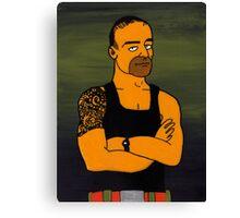 Commando Steve Biggest Loser Trainer Canvas Print