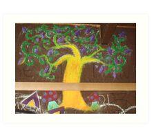Graffiti: Tree of Life Art Print