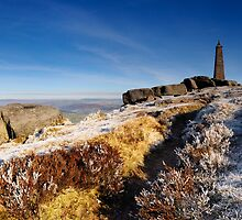 Wainman's Pinnacle, above Cowling by Simon Bowen
