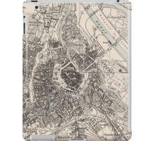 Vintage Map of Vienna Austria (1906) iPad Case/Skin