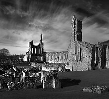 Byland Abbey by Theresa Elvin