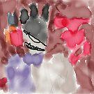 Horned Monster by SpottiClogg