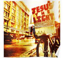 Jesus, the light Poster