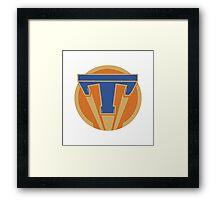 Tomorrowland 1984 Framed Print