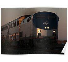 Amtrak #76 Westbound Poster