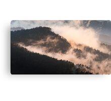 Ridge Cloud - Great Smoky Mountains National Park, North Carolina Canvas Print