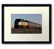 California Amtrak Commuter  Framed Print