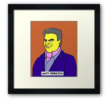 MasterChef Australia - Matt Preston Framed Print