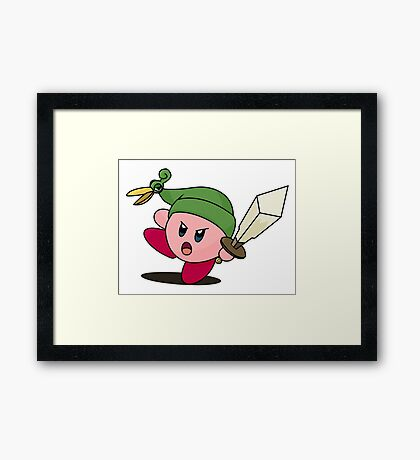 Minish Kirby Framed Print