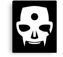 Hidan's Grim Reaper Face Marking Canvas Print