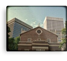 From South Main Street - Downtown Providence Metal Print