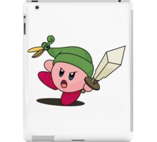 Minish Kirby iPad Case/Skin