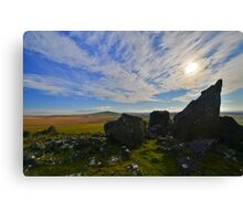 Dartmoor: The View From White Tor Canvas Print