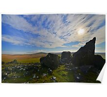 Dartmoor: The View From White Tor Poster