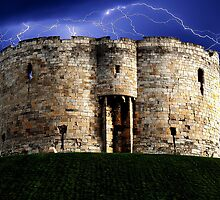 Cliffords Tower by Roger Green