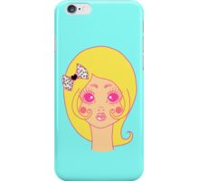 Girl in Cage iPhone Case/Skin