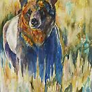 Grassland Bear by twopoots