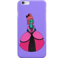 Fancy Skull Lady iPhone Case/Skin
