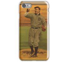 Benjamin K Edwards Collection Wild Bill Donovan Detroit Tigers baseball card portrait iPhone Case/Skin