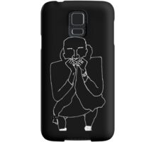Flatty Squat Wire Samsung Galaxy Case/Skin