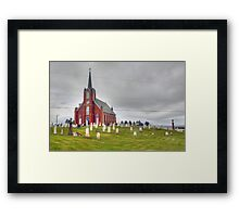 St. Columba in Iona, Cape Breton Framed Print