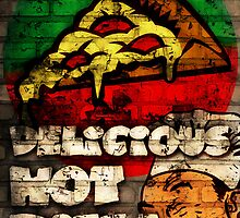 Delicious Hot Pizza  by CreativoDesign
