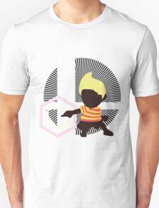 Lucas (Down Taunt, Default) - Sunset Shores Unisex T-Shirt